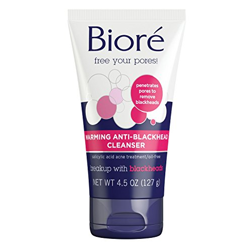 Bioré Warming Anti-Blackhead Cleanser (4.5 oz)