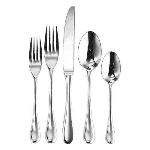 Ginkgo Firenze Stainless Mirror Finish Flatware - Set of 20