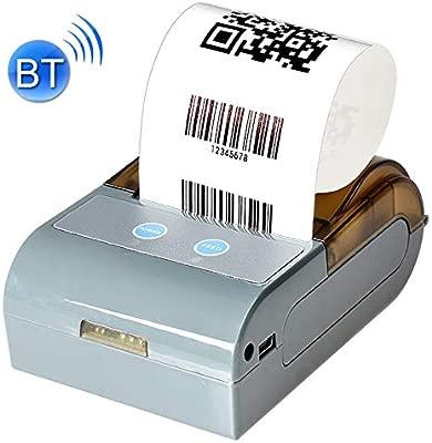 GzPuluz QS-5803 Portátil de 58 mm Bluetooth POS recibo de la ...