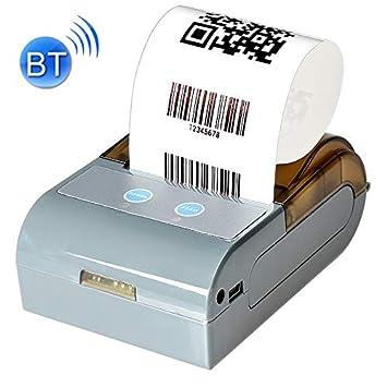 Impresora portátil Impresora, QS-5803 58mm Bluetooth portátil y la ...