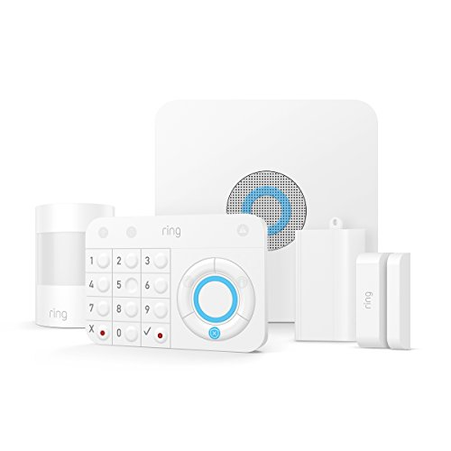 (Ring Alarm – Home Security System with optional 24/7 Professional Monitoring – No contracts – 5 piece kit – Works with)