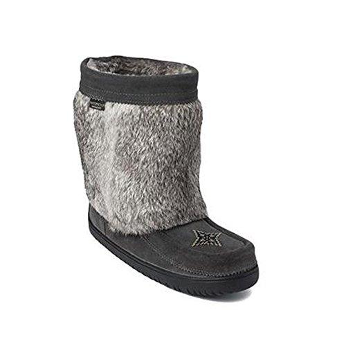f Mukluk Waterproof Charcoal Winter Boot - 9 ()