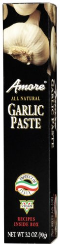 Amore Garlic Paste - Amore Garlic Paste - Tube, 3.2 Ounce -- 12 per case.