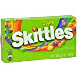 Skittles Sour Bite Size Candies 12 - 3.2 oz each (12 in a case)