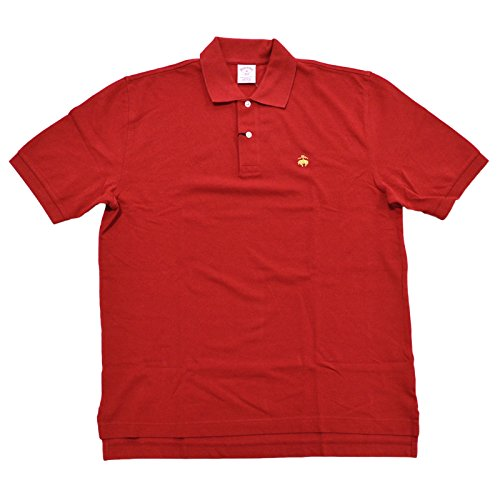 - Brooks Brothers Golden Fleece Original Fit Performance Polo Shirt (L, Red)