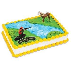 Deer Hunting Hunter Cake Decorating Kit