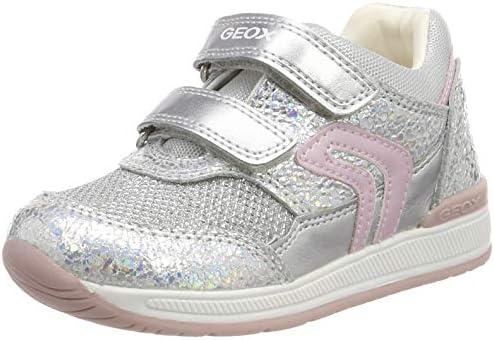[ジェオックス] Baby B Rishon Girl A Low-Top Sneakers、Silver(Iridescent C0776)、6 UK Child