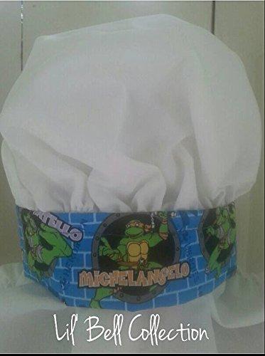 Children's adjustable Ninja Turtle Chef's Hat]()