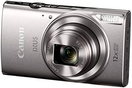 Canon IXUS 285 HS Silver Camera Kit inc 32GB SD Card and Case
