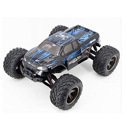 (MCJL 1:12 Size 2.4GHz Remote Control car, Off-Road Vehicle high Speed Drift Remote Control car Four Drive Desert Off-Road Ground,Blue)