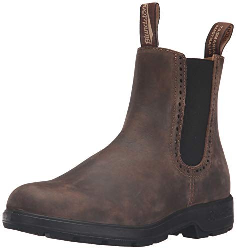 Blundstone Womens Boots - Blundstone Women's 1351 Chelsea Boot, Rustic Brown, 6 UK/9 M US