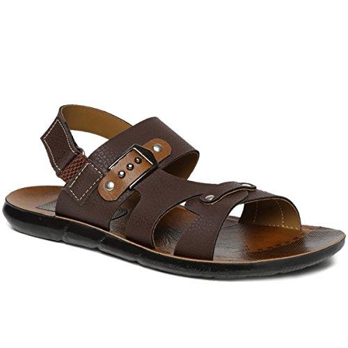 PARAGON Men's Brown Sandals & Floaters-7 UK/India (41 EU) (PU8901G)