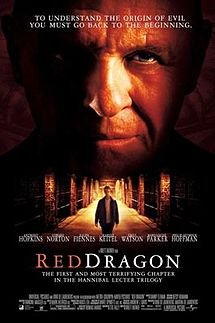 Red Dragon Original 27 X 40 Theatrical Movie Poster
