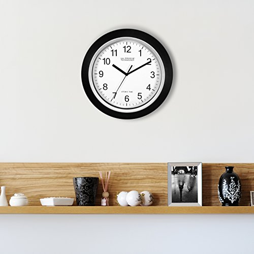 12 Atomic Analog Clock
