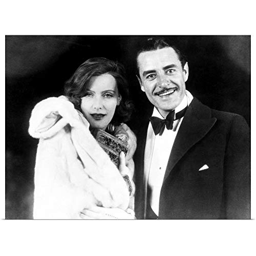 GREATBIGCANVAS Poster Print Entitled Garbo and Gilbert, 1927 by 16
