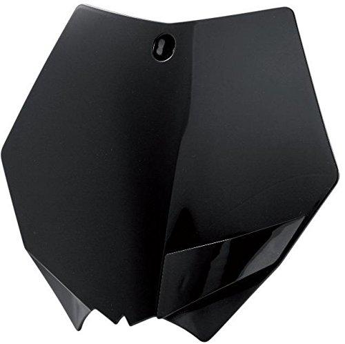 Polisport 8665900003 Front Number Plate - Black