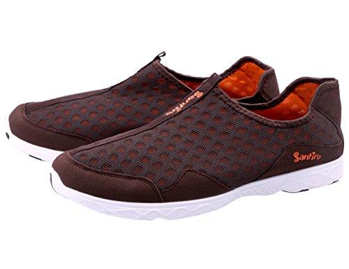 CUSTOME Ponerse Zapatos Malla Ligero Hombre Peso de Agua ZaZqTFCn8