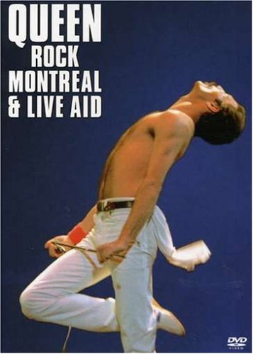 DVD : Queen - Queen Rock Montreal & Live Aid (Widescreen, 2 Disc)