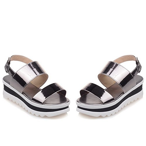Womens Ground MJS03281 Comfort Platforms Non Urethane Marking Bronze Sandals 1TO9 Firm PwpSdd