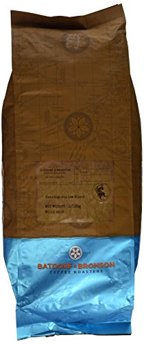 Batdorf & Bronson Dancing Goats Blend, Whole Bean Coffee, 5-Pound Bag by Batdorf & Bronson