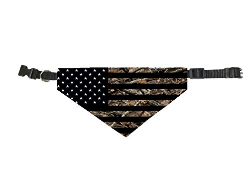 (InfoposUSA Dog Bandana Scarf Collar Triangle Scarf For Large Pets By Camouflage USA)