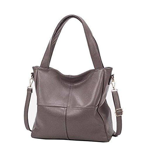 Laptop Meoaeo Nueva Negro Bag Khaki Bolso La Satchel Cosido r6Ewqa6n5