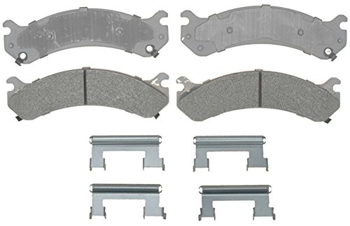 antage Semi-Metallic Front Disc Brake Pad Set with Hardware ()