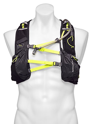 Nathan VaporAir Hydration Pack Running Vest w/ 2L Hydration Bladder Reservoir, Men's