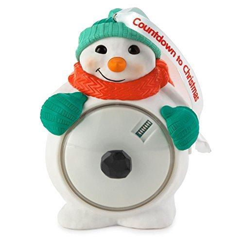 Hallmark Keepsake Ornament Countdown to Christmas Snowman 2015