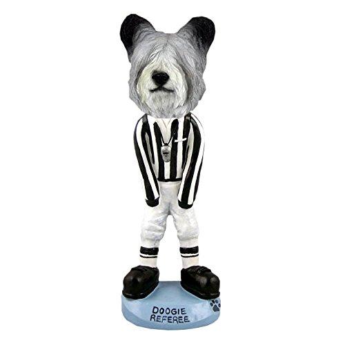 (Skye Terrier Referee Doogie Collectible Figurine)