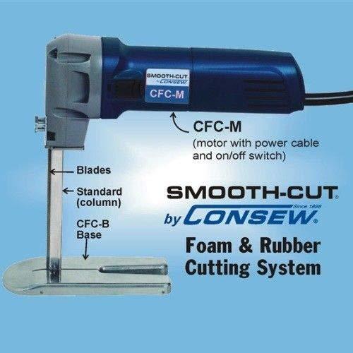 Consew CFC 12'' Dual Blades Complete Foam & Rubber Cutter