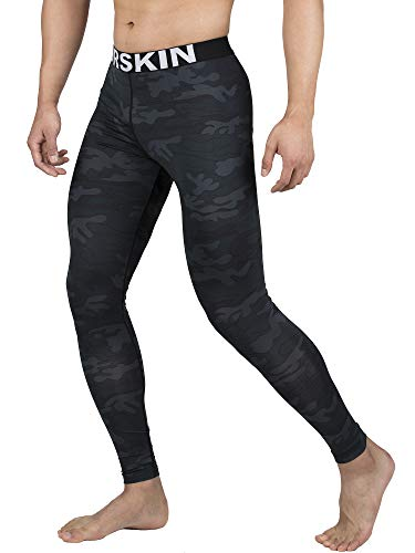 DRSKIN Men's Compression Dry Cool Sports Tights Pants Baselayer Running Leggings Yoga from DRSKIN