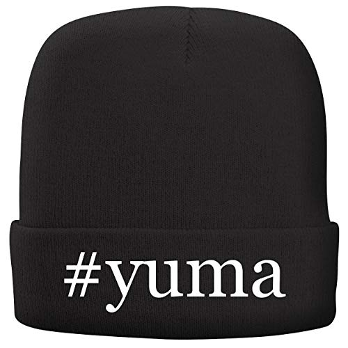 BH Cool Designs #Yuma - Adult Hashtag Comfortable Fleece Lined Beanie, Black (Best Of Yuma Asami)