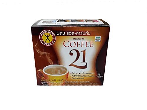 Naturegift Instant Coffee Mix 21 Plus L-carnitine Slimming Weight Loss Diet