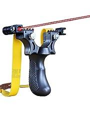 LifBetter Infraröd siktslangbella med platt gummiband med hög precision siktning slangbella skjutande katapult utomhussport spel slangbella skytte