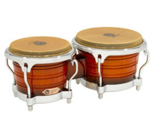 Latin Percussion LP Professional Durian Wood Bongos by Latin Percussion