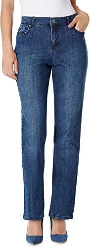 Bandolino Women's Petite Mandie Signature Fit 5 Pocket Jean, Mystere, 12P ()
