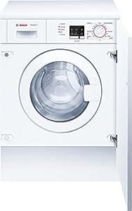 Bosch WIA20000EE Integrado Carga frontal 6kg 1000RPM A Color blanco - Lavadora (Integrado, Carga frontal, A, A, C, Color blanco)