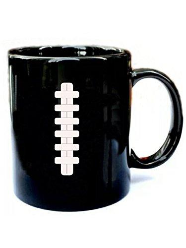 Football Last Minute Halloween Costume - Funny Gift Black 11oz Ceramic Coffee -