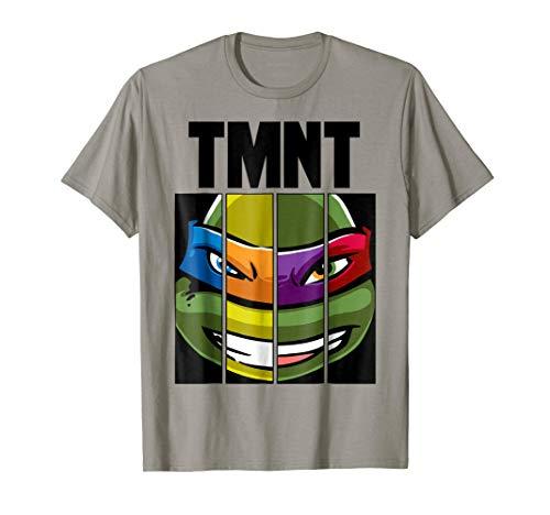 Teenage Mutant Ninja Turtles Face Mash Up T-Shirt