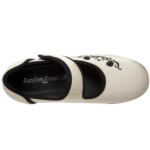 Drew Shoe Womens Jada Mary Jane Ivory Stretch U9W1To