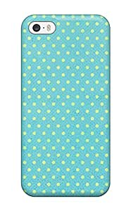 Case Cover Happy Dotted Green / Fashionable Case For Iphone 5/5s