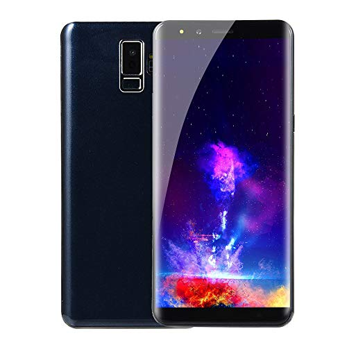 Price comparison product image Choosebuy Unlocked Cell Phones,  5.7 inch Dual SIM HD Camera Smartphone Android 6.0 Bluetooth WiFi 2G GPS Call Mobile Phone 512M RAM +512M ROM (Blue)