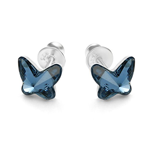 8efd9164caad butterfly - Pendientes para niña
