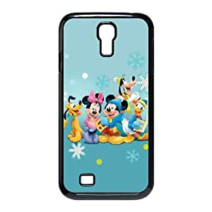 Samsung Galaxy S4 9500 Cell Phone Case Black Disney Mickey Mouse Minnie Mouse Unique Phone Case Cover For Girls CZOIEQWMXN1061