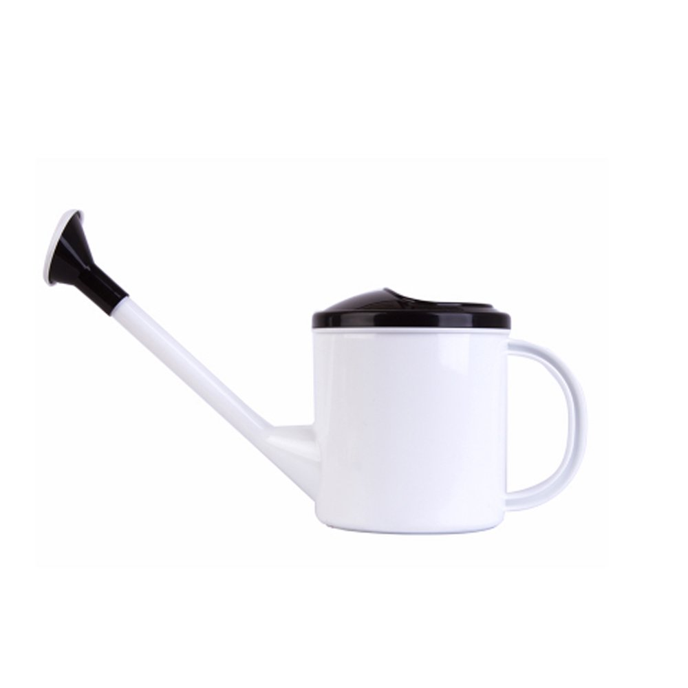 Corldif Long Spout Watering Can Plastics Spriking Can Garden Tool Watering Bottle (1.5L, Black)