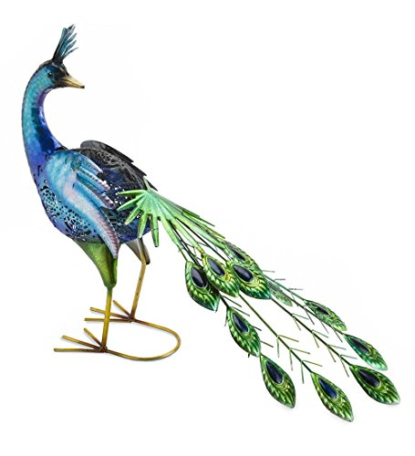 Outdoor Lighted Peacock - 6
