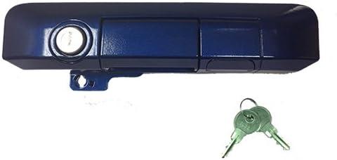 Pop /& Lock PL5512 Blue Ribbon Metallic Manual Tailgate Lock for Toyota Tacoma Standard Lock