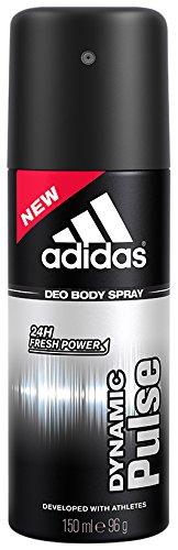 Adidas Dynamic Pulse 24 Hours Fresh Boost Deo Body Spray for Men, 5 Ounce