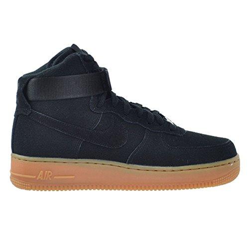 Nike Air Force 1 HI Suede Women's Shoes Black 749266-001 (11 B(M) US)